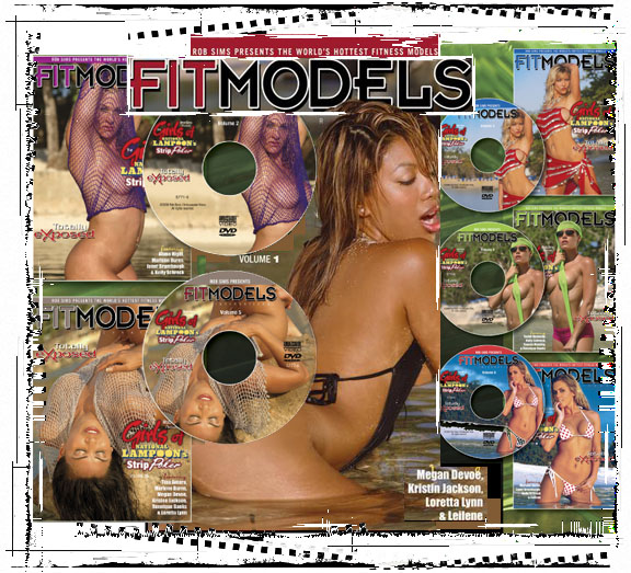 DVDs/Videos | By: Rob Sims Studios | fit models dvd and videos by Rob Sims